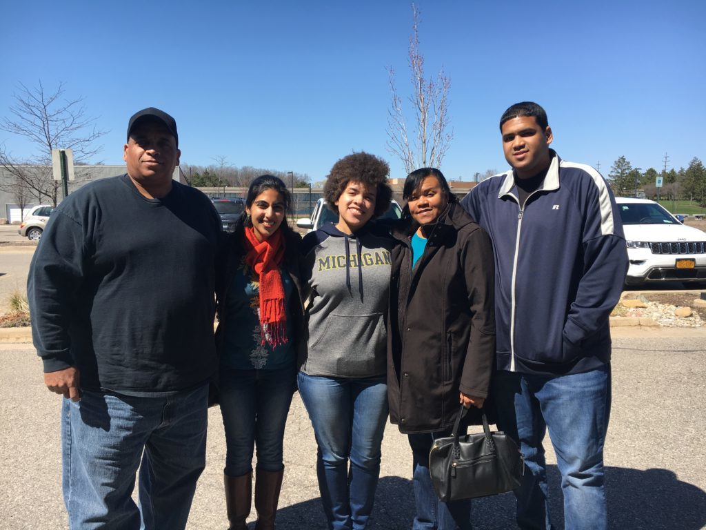 aliya brianna and family