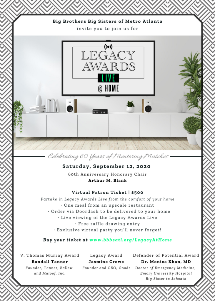 Legacy at Home (for 1) flyer